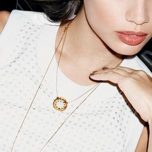 House of Harlow small Sunburst necklace